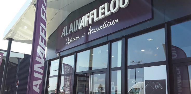 Alain Afflelou   magasin optique du centre commercial Le Méridien ... f0fda32fb862