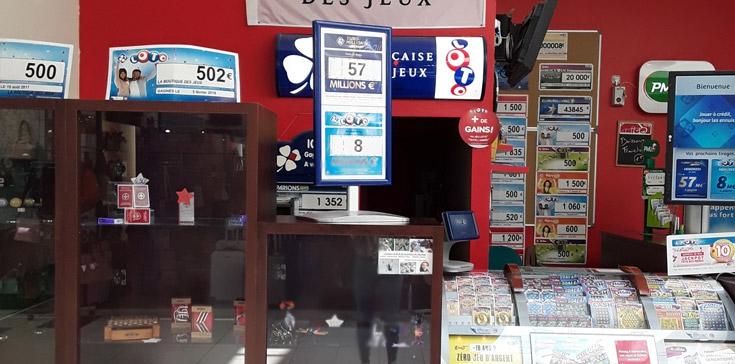 La boutique des jeux