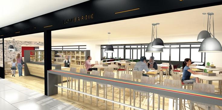 Restaurant la Trattoria - Centre commercial Le Méridien Ibos